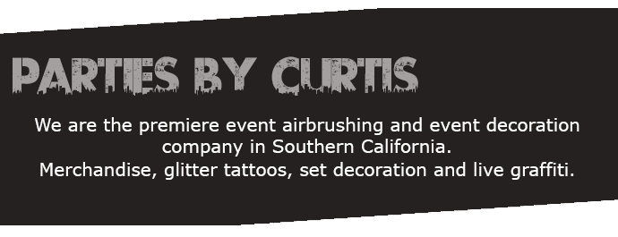 Parties by Curtis Home Page Text